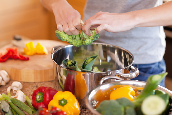 cooking healthy